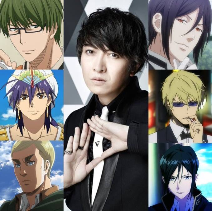 Happy Birthday to the super talented voice actor, Daisuke Ono!!!