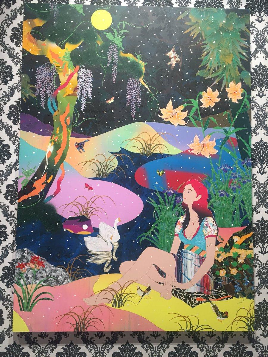 智一 松山 專訪松山智一: 互相遠離的時代,藝術讓彼此走近