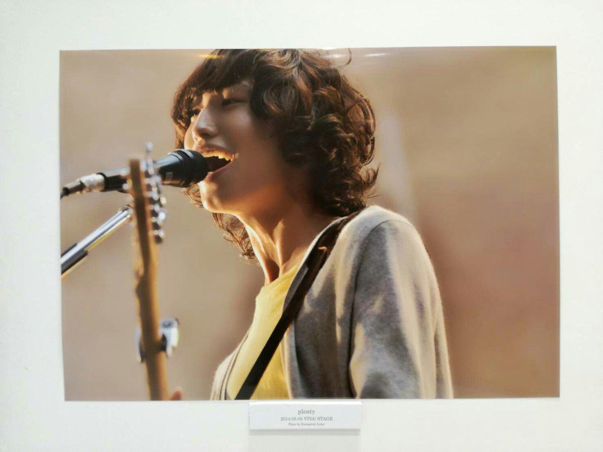 plentyファンの皆さん。 ビバラミュージアムにてビバラ出演時の江沼さんの写真が飾ってありましたので、掲載いたします。懐かしい。 出来ればニッチ、中畑さんヒラマさんの写ってる写真も見たかった。#ビバラ #plenty