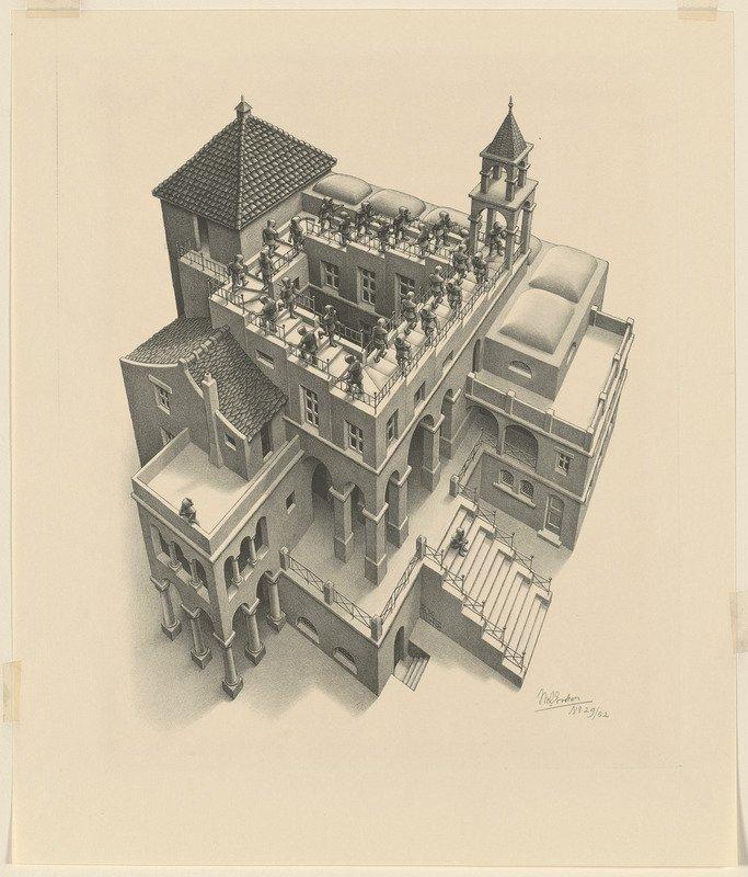 M.C. Escher's Mind-Bending Mathematical Prints Now Available Online