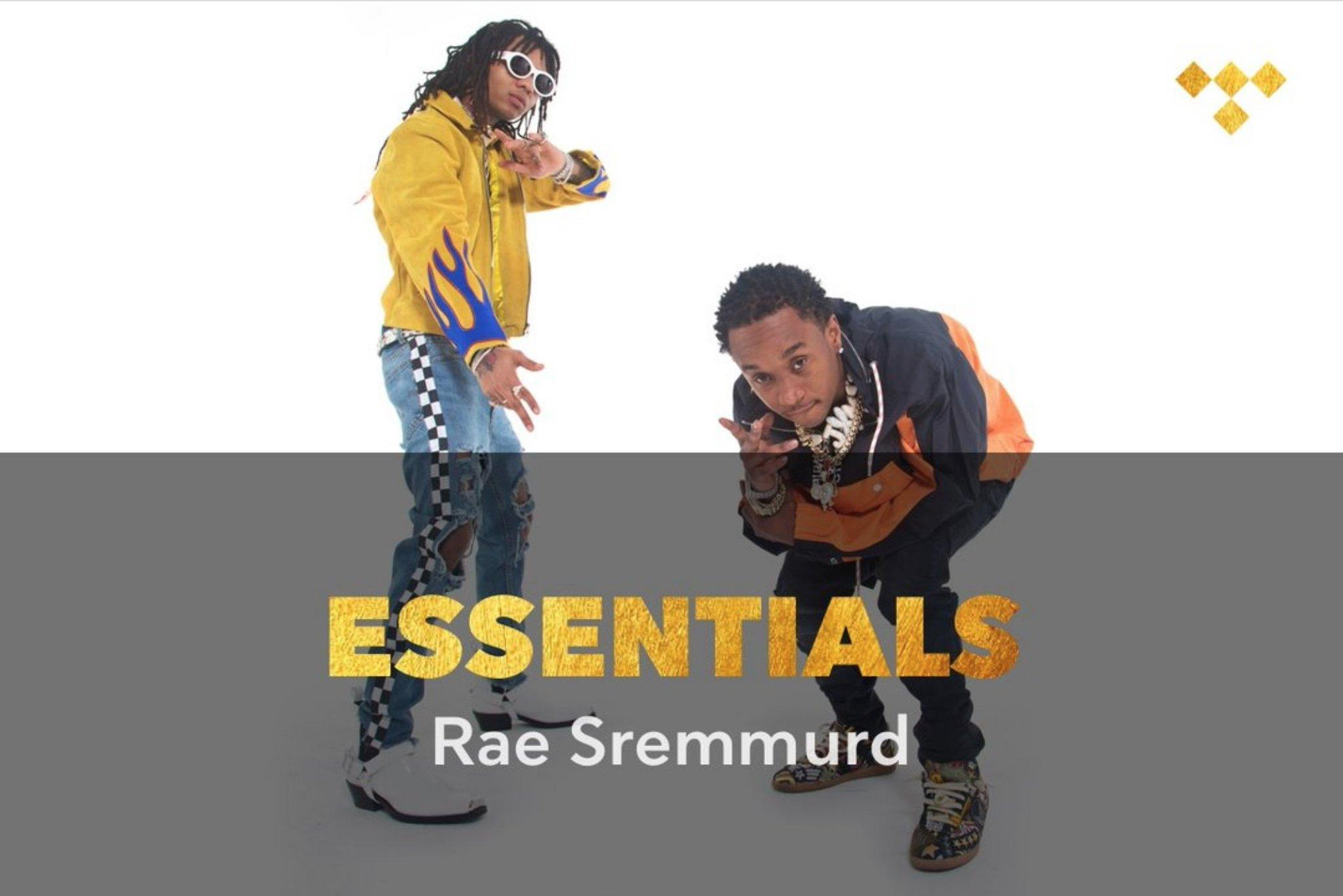 Rae Sremmurd Essentials https://t.co/YlRPHqNwuj #TIDAL https://t.co/5IpfMexxM1