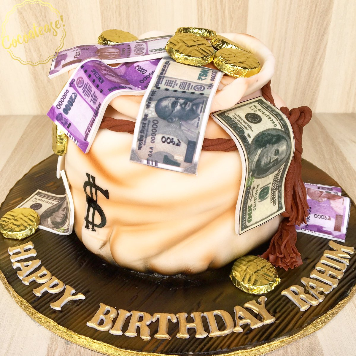 Tremendous Cocoatease On Twitter The Goal Isnt More Money It Is Living Birthday Cards Printable Riciscafe Filternl