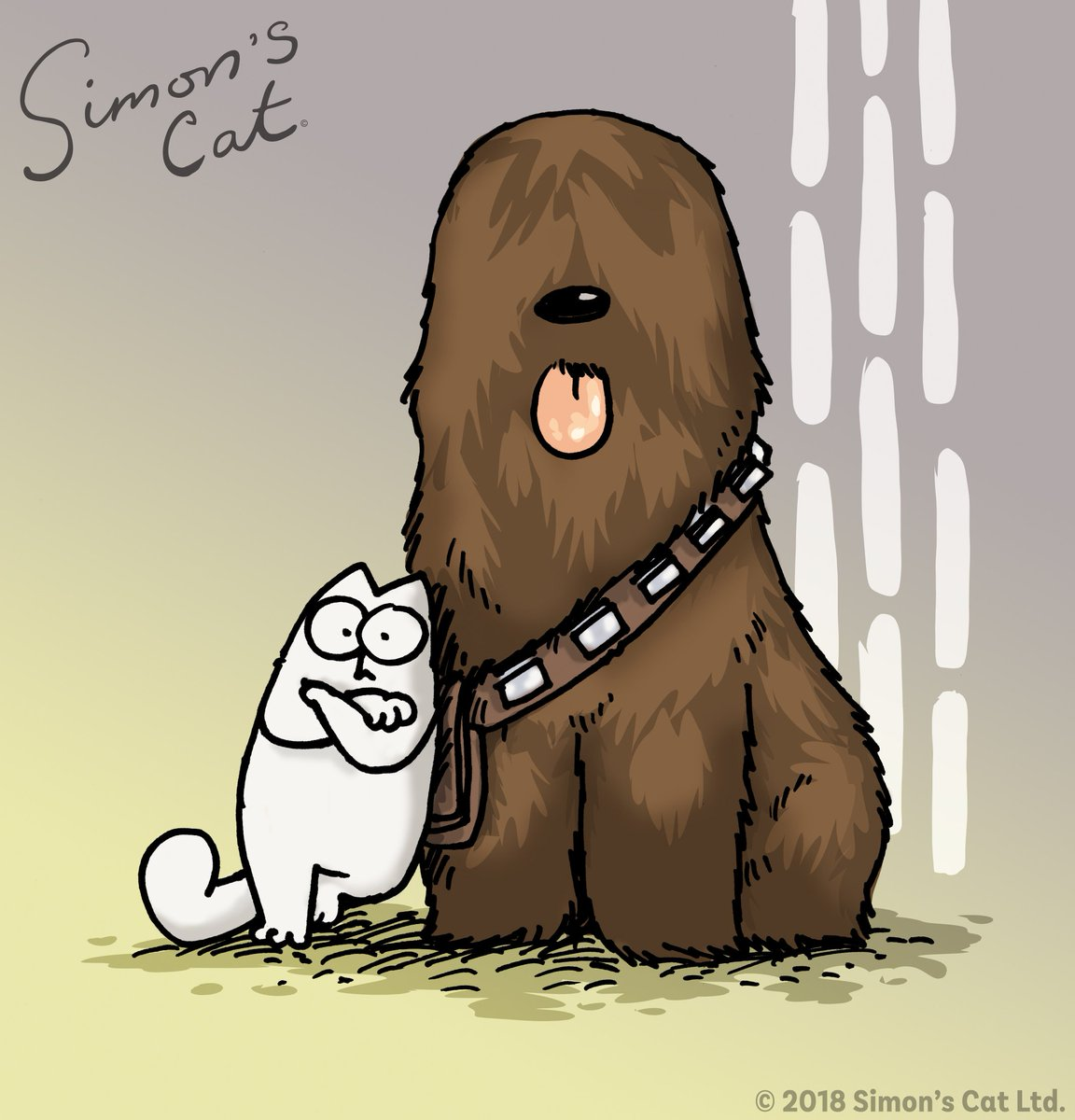 Simon's Cat - May the Fourth be with you