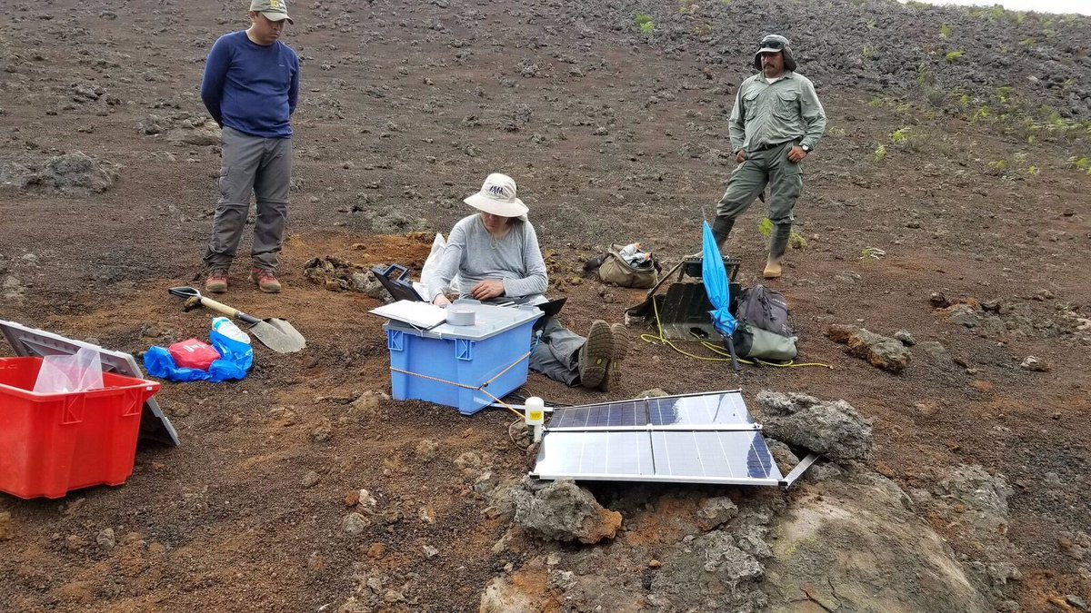 test Twitter Media - The fundamental aim of this international collaboration is to improve our understanding of how earthquakes can trigger one another by studying the seismicity at Sierra Negra. https://t.co/hQCr1LoAkp