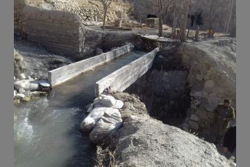 Defying the #floods, controlling #water w/ clean irrigation canals & saving livestock and agriculture bit.ly/2EWmtaD #AfghanGermanCooperation