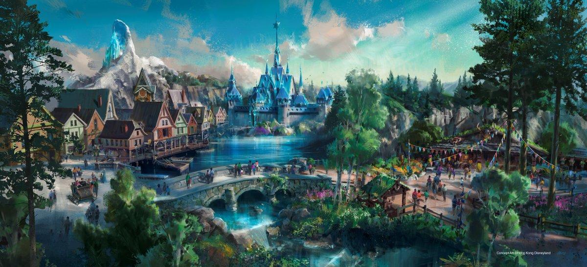 [Parc Walt Disney Studios] Nouvelle zone La Reine des Neiges  (202?) - Page 5 DcW_EmVXkAA2Lze