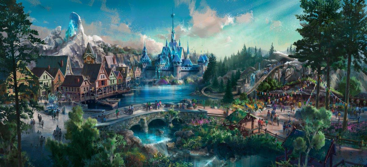 [Parc Walt Disney Studios] Nouvelle zone La Reine des Neiges  (202?) - Page 5 DcW_s1JXcAEIyZ5