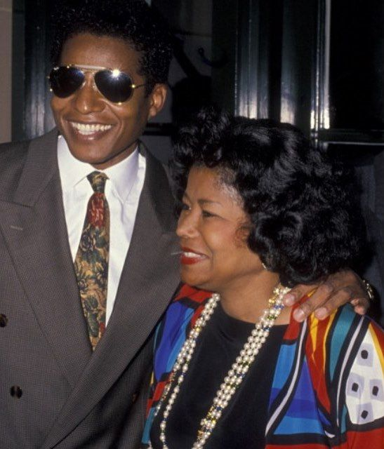 Happy birthday to queen Katherine Jackson and her eldest son Jackie