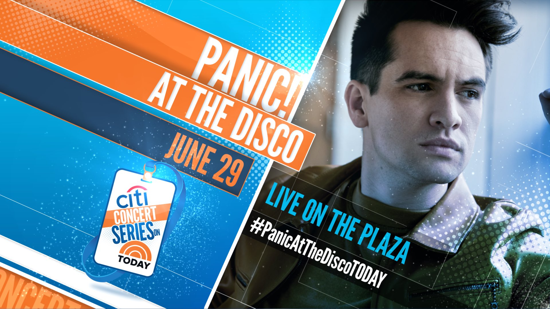 �� see you in the Plaza on June 29th for the @TODAYShow Summer Citi Concert Series! #PanicAtTheDiscoTODAY https://t.co/tBdirOAAk8