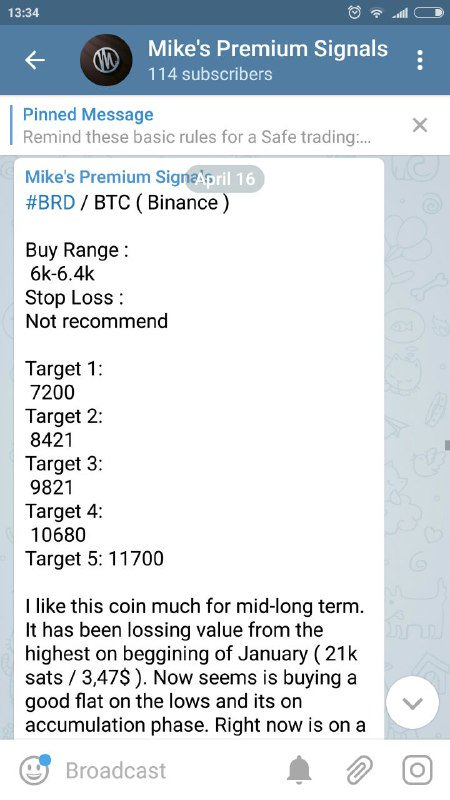 Mike Crypto Signals on Twitter: