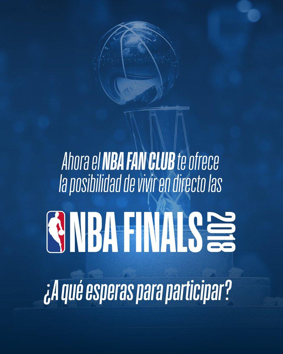 ¿Sueñas con viajar a las finales de la NBA? Ahora @NBAspain te lleva al tercer partido! Pincha y participa si eres miembro del NBA FAN CLUB! 👉🏻 bit.ly/2r1HQSd 🏀 #NBASpain 🔝
