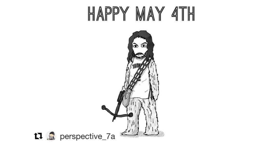 May the the 4th be...etc.