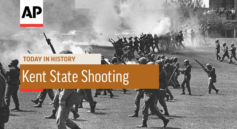 the shootings at kent state university history essay The kent state shootings (also known as the may 4 massacre or the kent state massacre) were the shootings on may 4, 1970, of unarmed college students by members of the ohio national guard at.