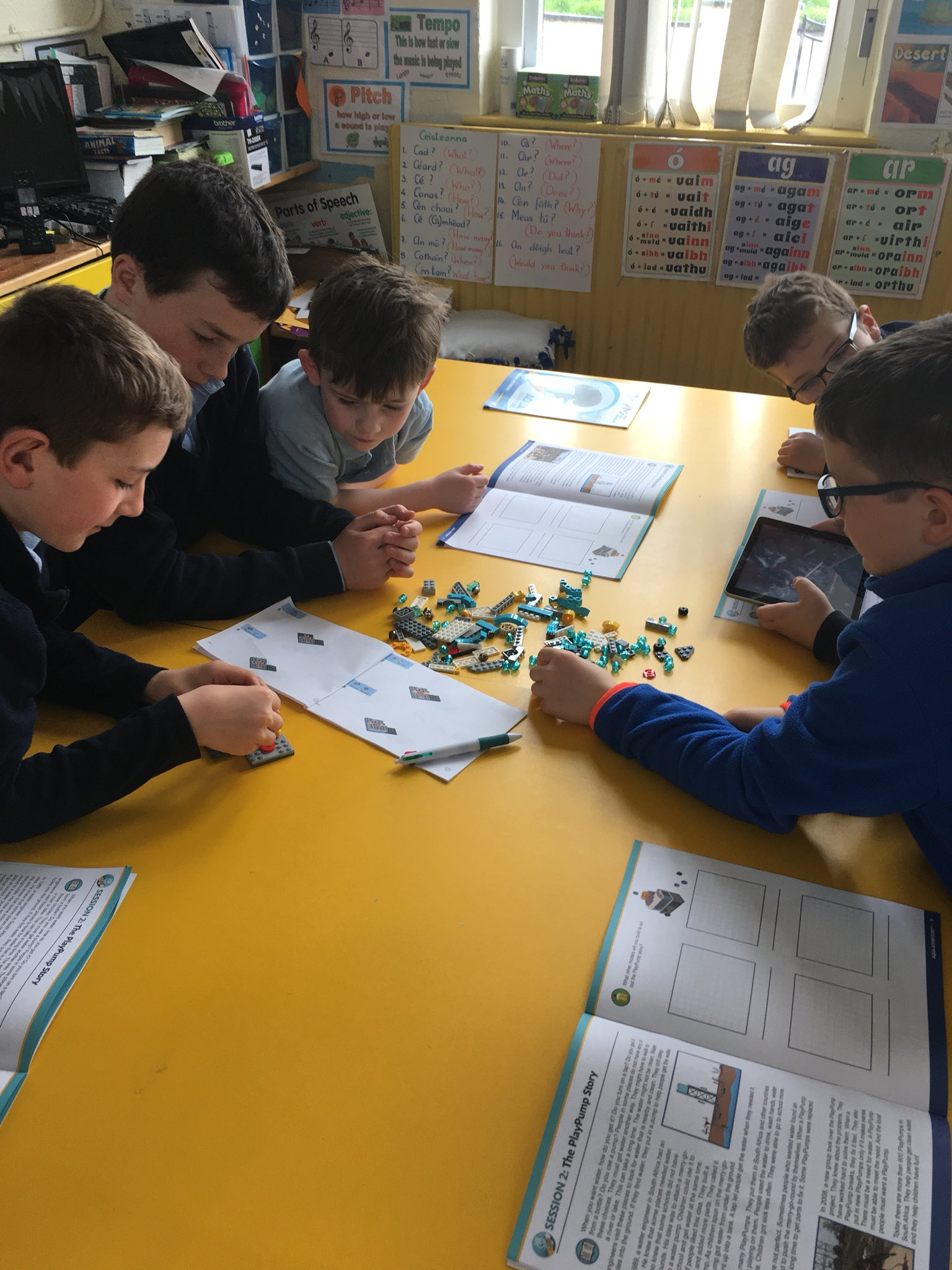 Cloghans Hill NS On Twitter We Are Starting Our Firstlegoleague Junior Challenge Today Its So Very Exciting Aqua Lego Learnit Ireland