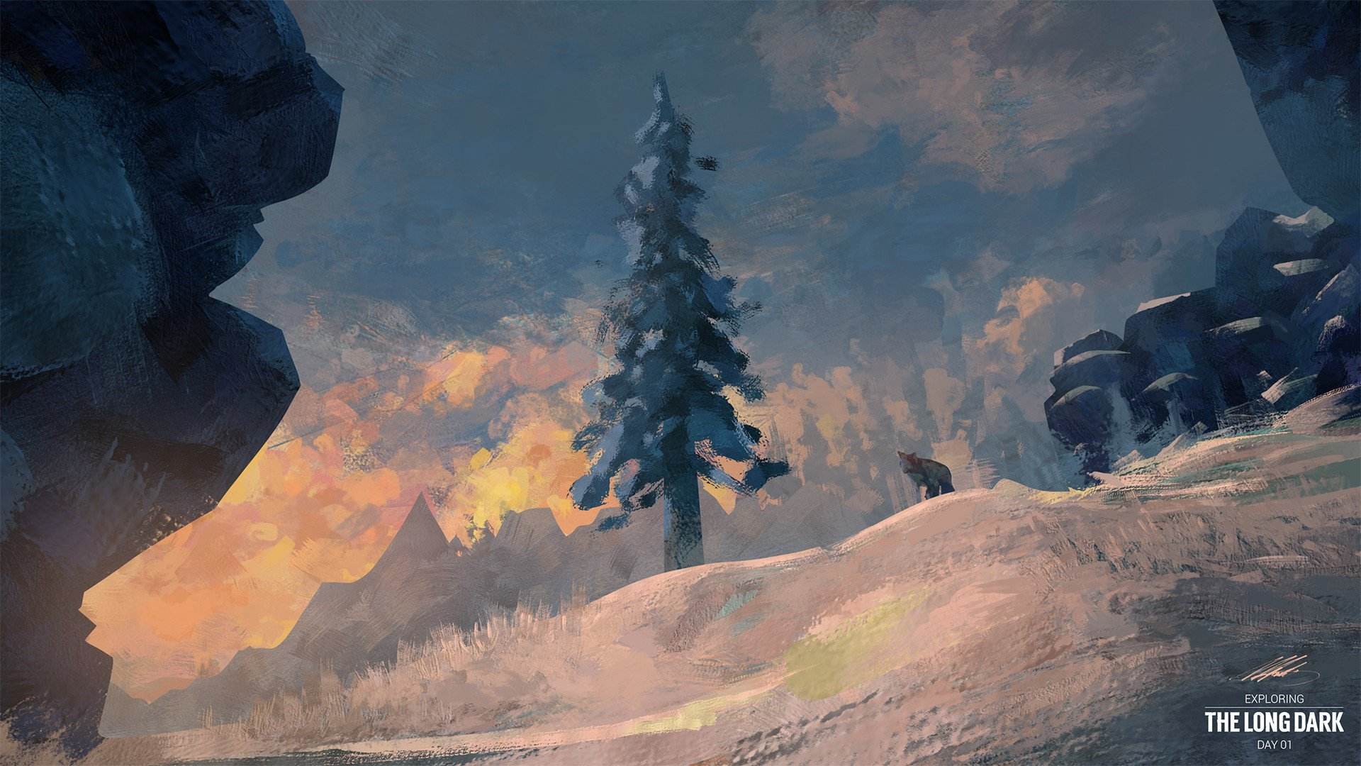 The Long Dark On Twitter Day 01 A Painting By Erick