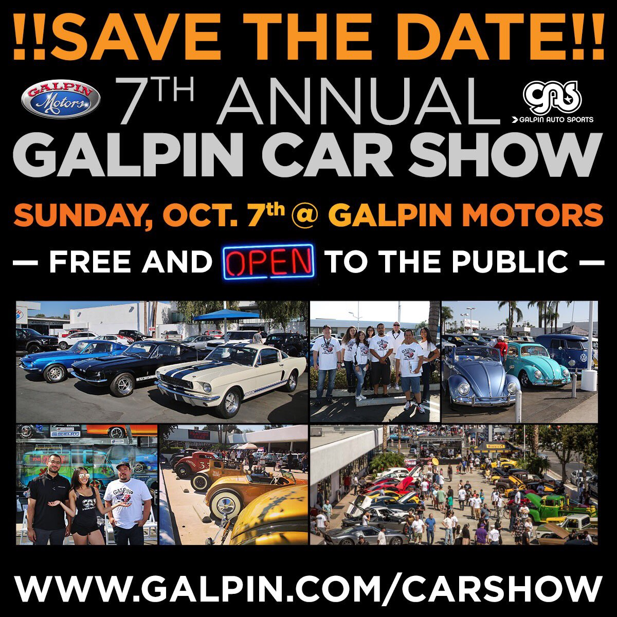 Galpin Motors On Twitter SAVE THE DATE The Th Annual - Is there a car show near me today
