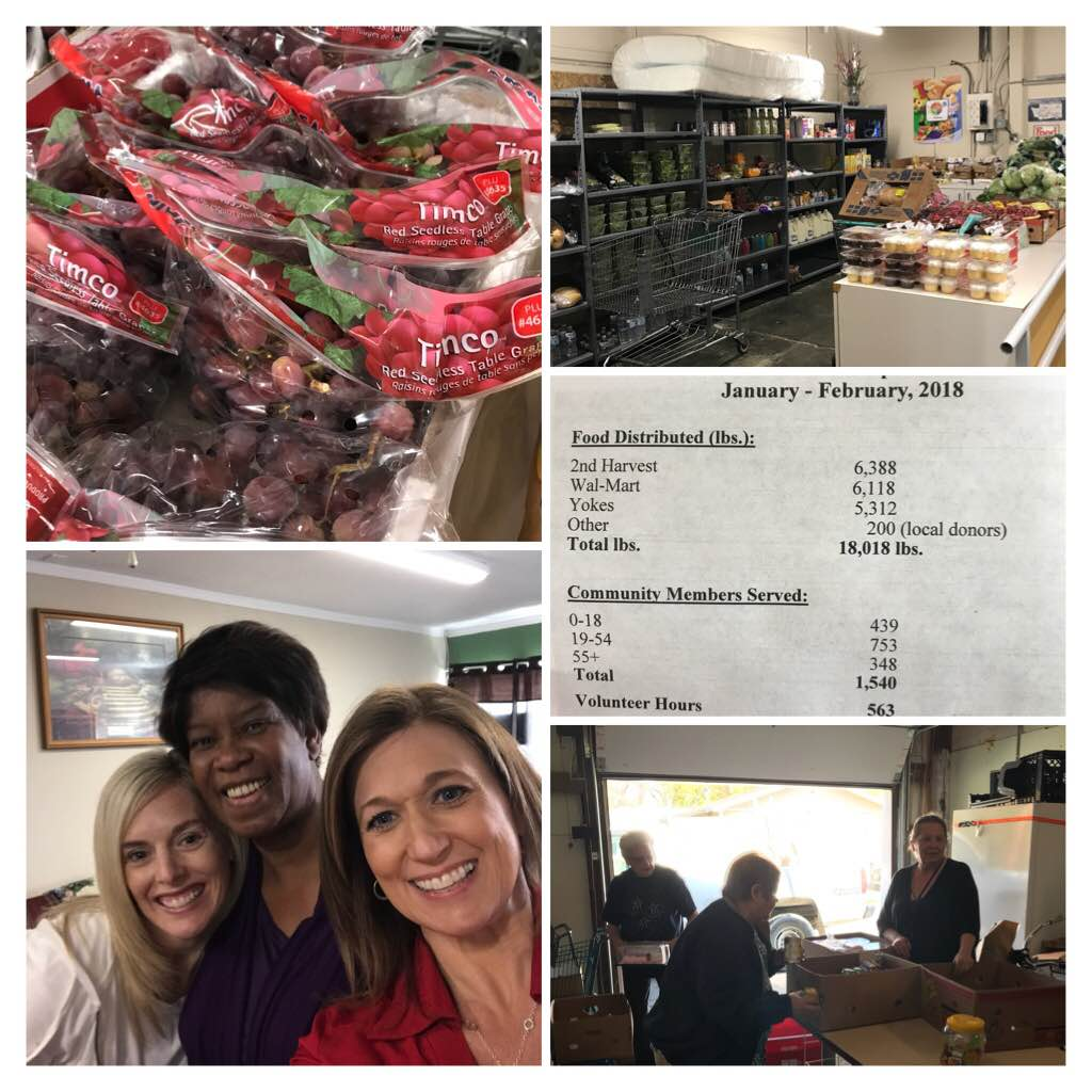Touring #CleonesCloset, a fantastic food bank serving #AirwayHeights. The stand up freezer just broke. Can u help? <br>http://pic.twitter.com/BDRNcMum4f