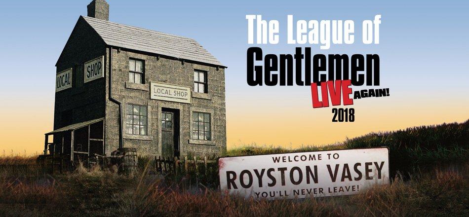 The League Of Gentlemen Live