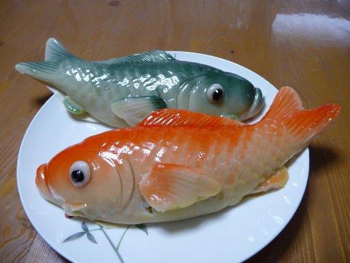 端午の節句でお馴染みだと思っていた鯉菓子が長崎県限定だったと知って震えている端午の夜