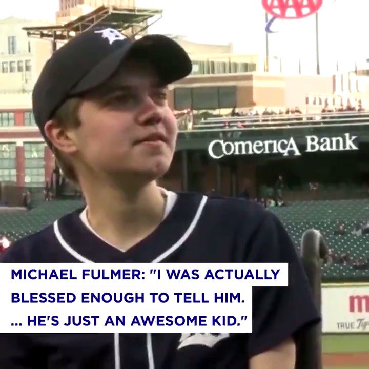 .@tigers and @MakeAWish teamed up to send one special fan to the @AllStarGame. https://t.co/KePGbRQ4oP https://t.co/hk71d2q9xC