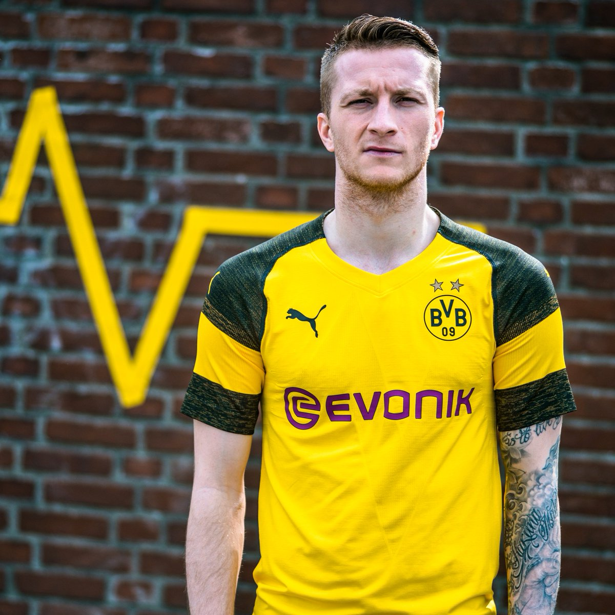 huge selection of 13f6a 5bc12 Marco Reus : Marco Reus models BVB kit pumafootball | B/R ...