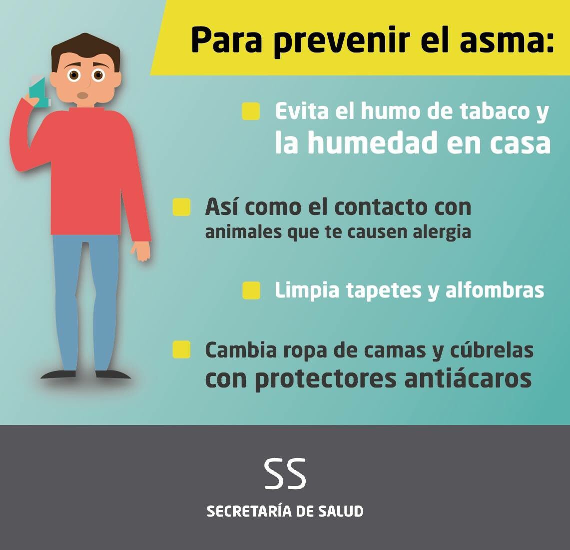 prevencion asma en niños