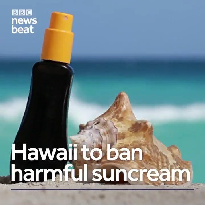 Hawaii is trying to stop coral bleaching by banning harmful suncream ���� https://t.co/olaXZdQsgq