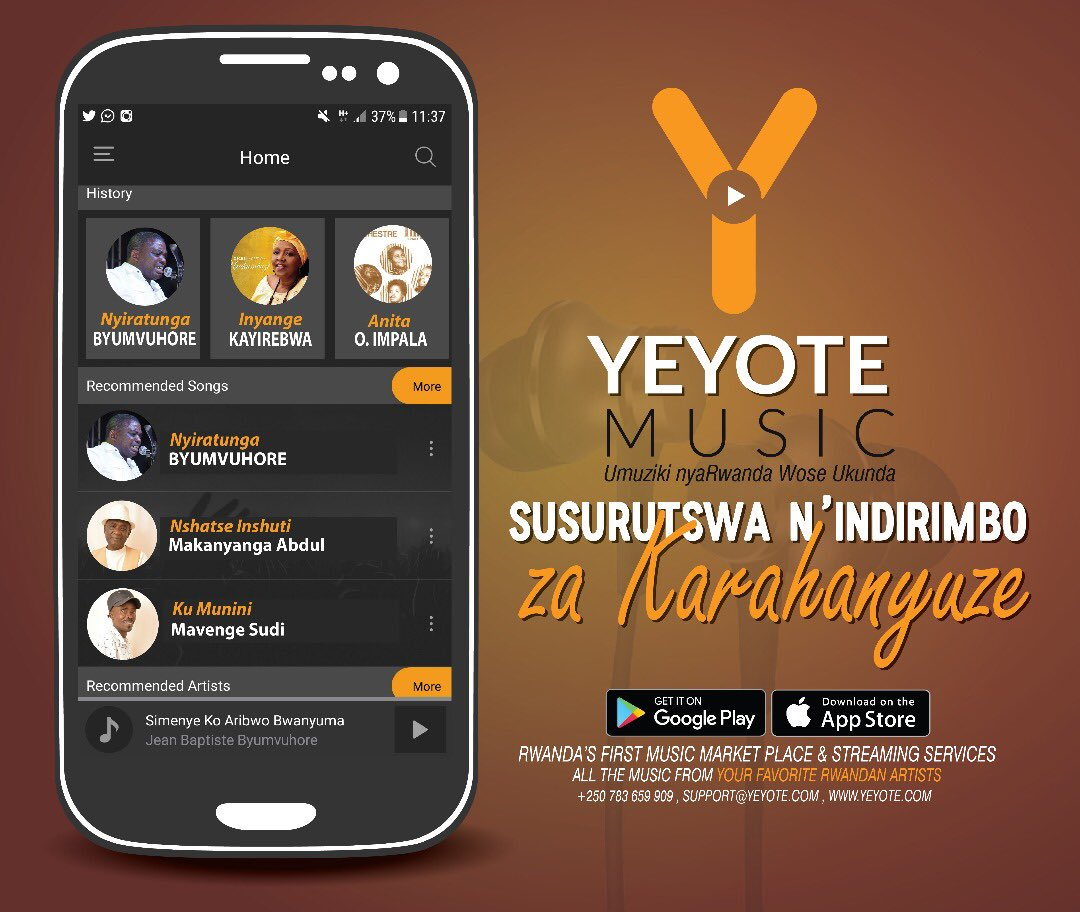 Image result for yeyote music app