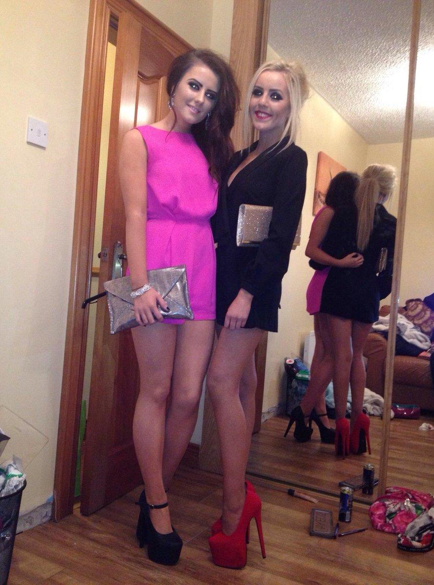 nude girls in high heels