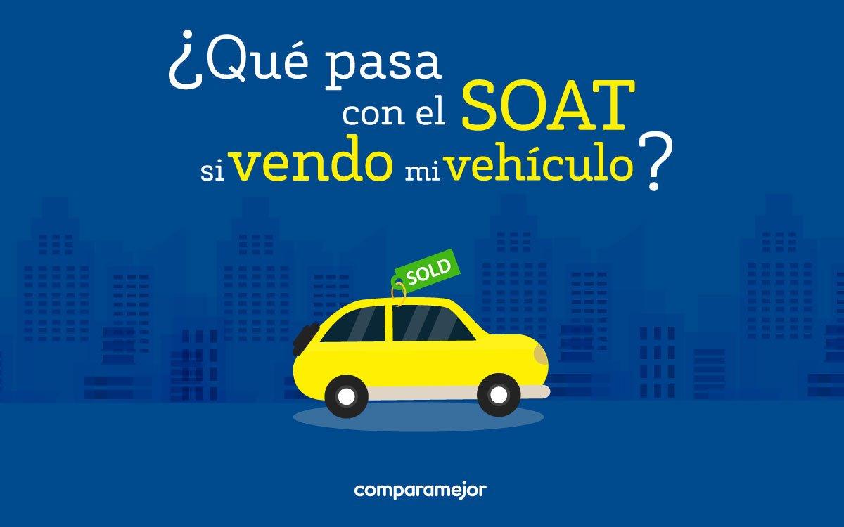Normalmente dentro del traspaso que se hace cuando vendes un vehículo se incorpora el #SOAT pues es un seguro expedido especialmente para el vehículo, no para su dueño. >> https://t.co/Ry16OM7JxR https://t.co/9cxdaqq1Me