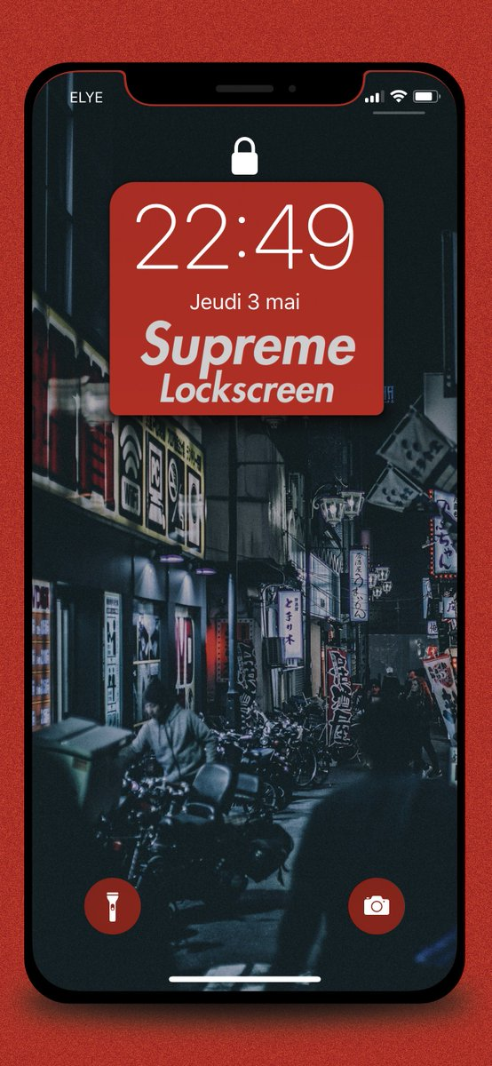 Zooropalg On Twitter Supreme Lockscreen Now In The Mega For