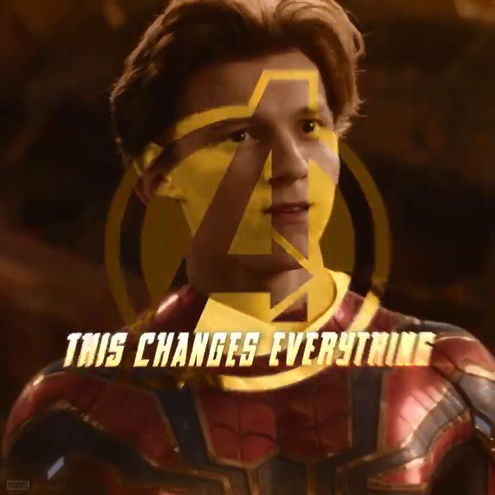 It's all been leading to this. @Avengers: #InfinityWar #SpiderMan https://t.co/mRJ64C5ZdV
