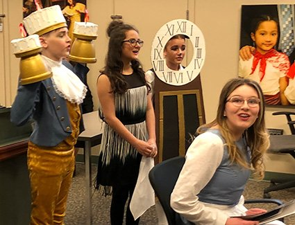 School musical production builds community and offers unique learning  experience for @dundonald34 students. ow.ly/enbP30jMxWy #spslearn ...