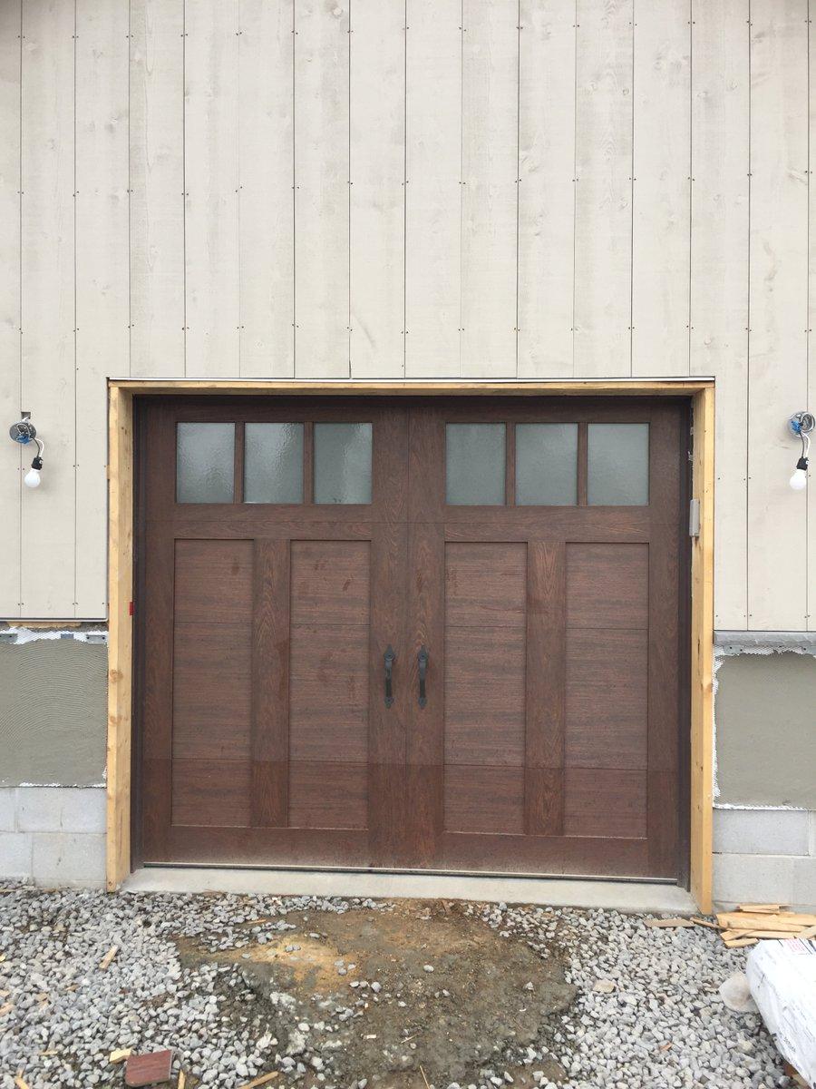 garage jack lift high installation shaft opener door clopay gallery