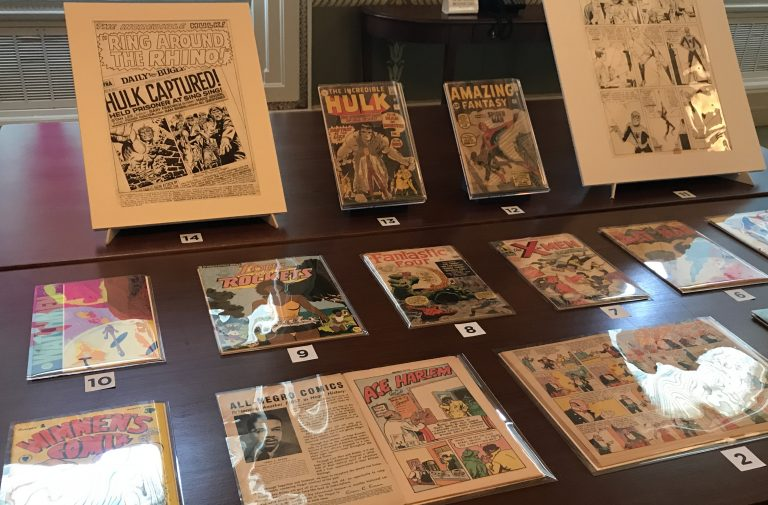 """test Twitter Media - A new @librarycongress  blog featuring treasures & stories from their newspaper & comic book collections: """"Headlines and Heroes"""" https://t.co/1vw32Kxkxz https://t.co/acNDrrFhCW"""