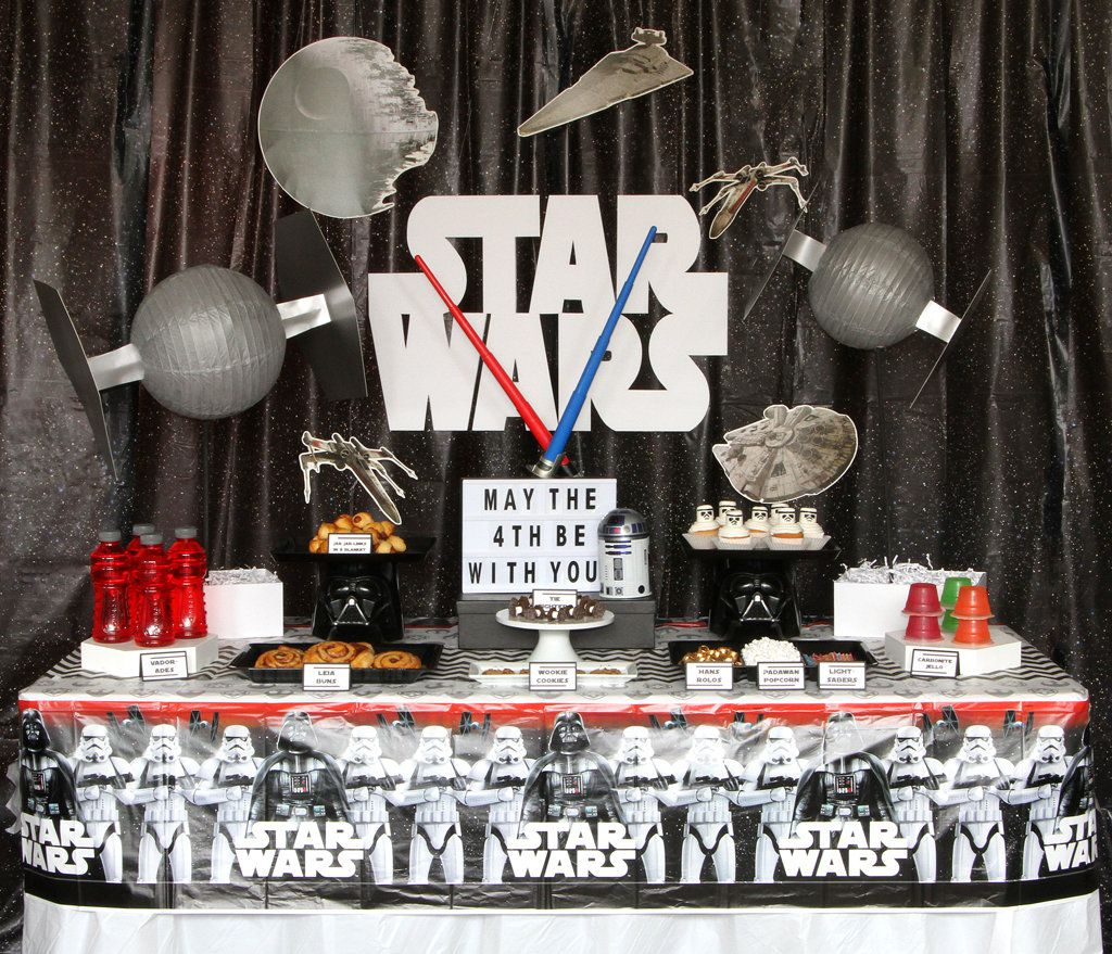 May The Fourth Be With You Party Supplies: BirthdayInABox (@BirthdayInABox)
