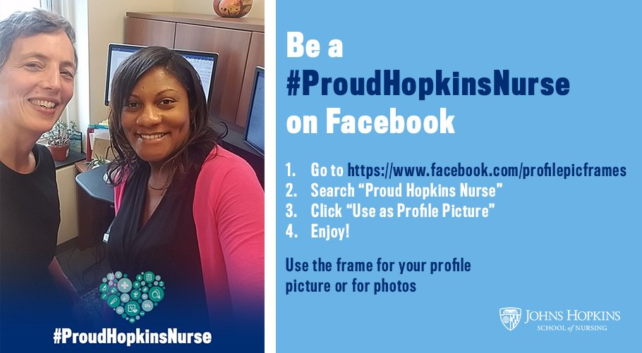 Hopkins Nursing On Twitter Be A Proudhopkinsnurse On Facebook