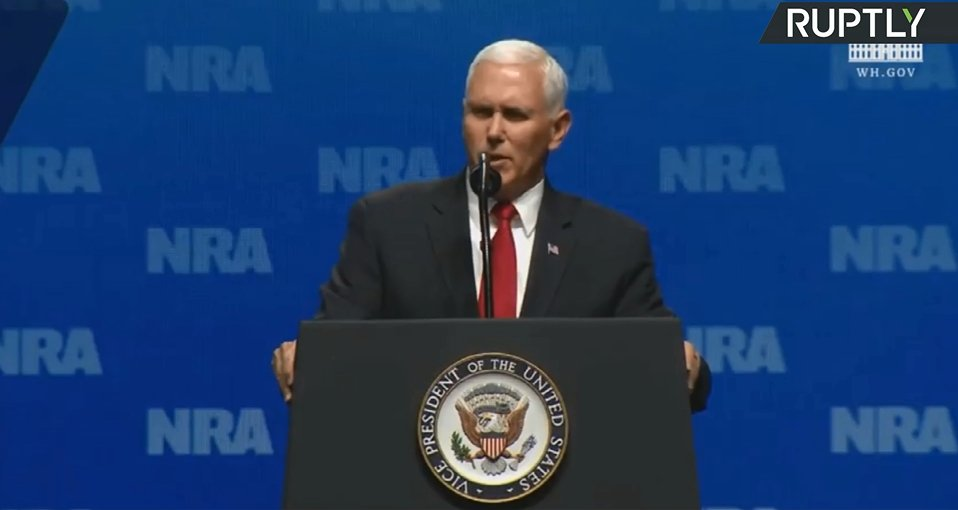 WATCH LIVE: #Pence speaks at the National Rifle Association Leadership Forum https://t.co/asCul55H9V