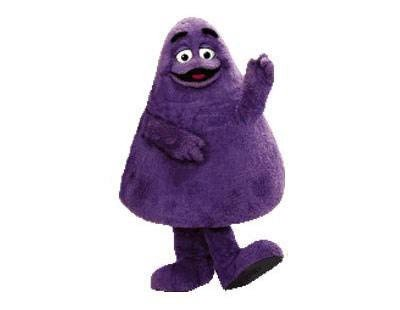 """McDonald's🇨🇦 auf Twitter: """"Good question, Clement! Grimace is a large,  purple anthropomorphic being of indeterminate species with short arms and  legs. Originally, 'Evil Grimace' was trying to steal our milkshakes but  these"""