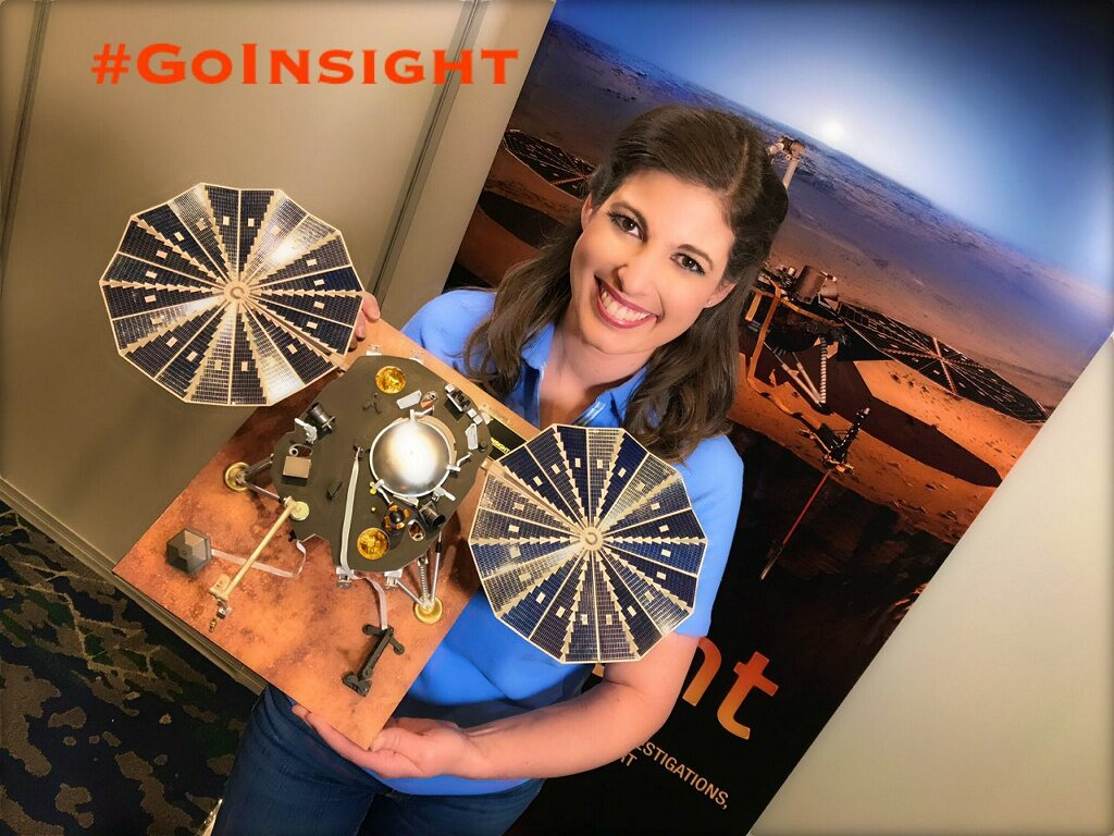 Who's ready to go to Mars?! Our Chief Meteorologist @MJuricaWFTV is at Vandenberg Air Force Base waiting for  #InSightto launch tomorrow morning. She'll be back on the air at 5 p.m. with the latest!  #GoInsight #NASAS#NASASocialocial