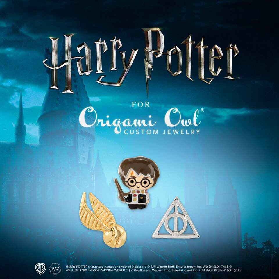 Harry Potter for Origami Owl 2018 | Harry potter owl, Origami owl ... | 960x960