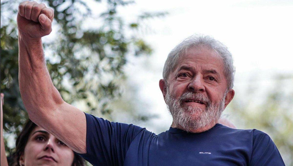Lula da Silva marca intenciones de voto