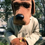 Image for the Tweet beginning: McGruff joined us for Law