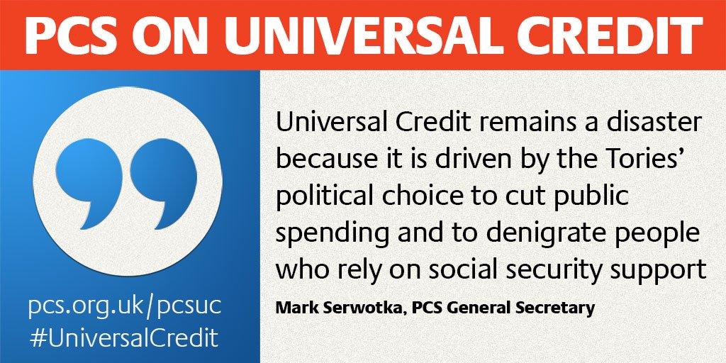 Image result for pcs universal credit strike