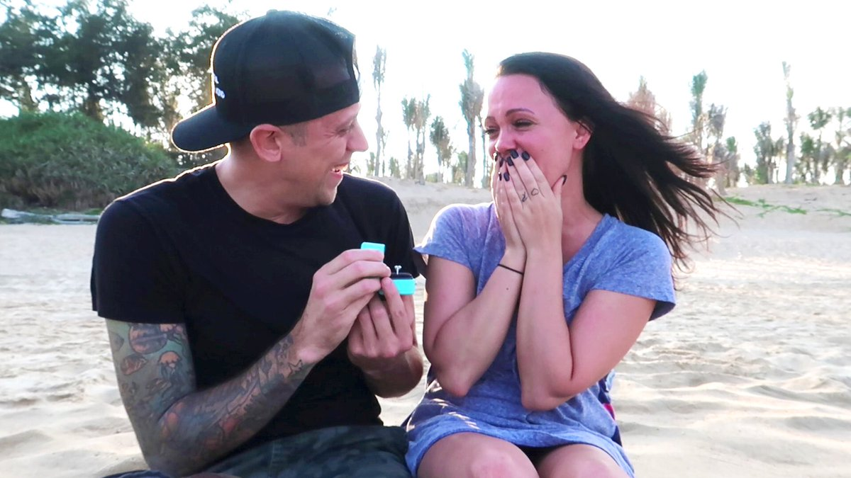 She said yes!  Our most exciting and emotional video is now up! Thanks for sharing. https://youtu.be/Hd3UIh4EKVw