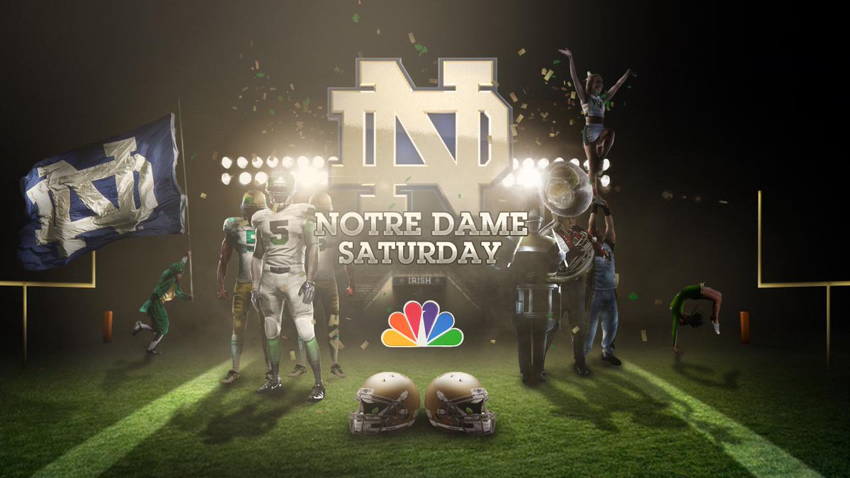 Brian Polian On Twitter Notre Dame Football And Nbc Have Incredible Partnership Our Current Contract Runs Through 2025 And Provides Nbc Exclusive Broadcast Rights To Fighting Irish Home Games We Are The