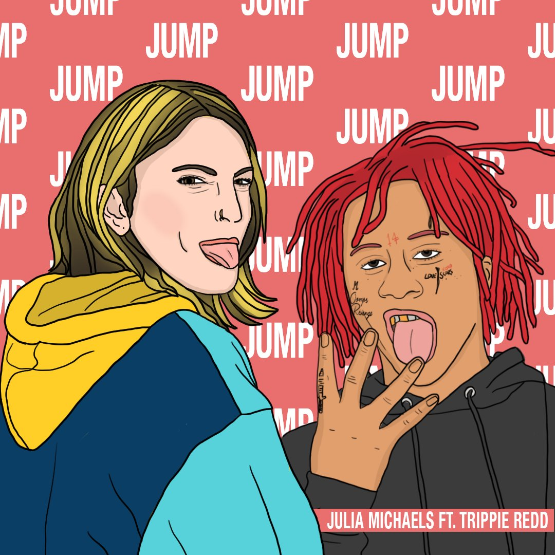 JUMP out now 💜 @juliamichaels JuliaMichaels.lnk.to/trippiejump