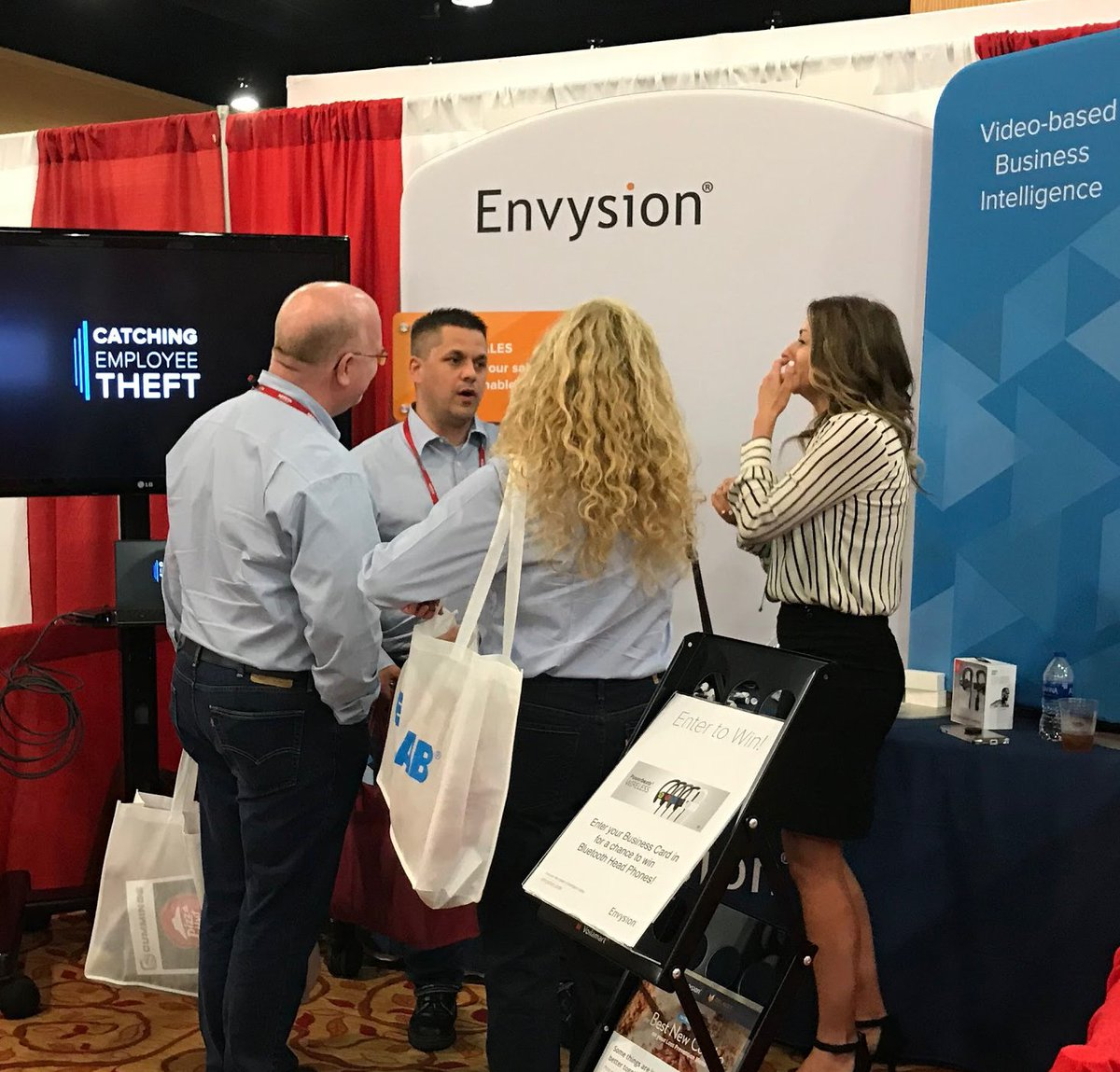 Envysion on twitter our team shared the value of video with icymi you can learn more about how integrated video protect your business at httpsenvysion picitter7td8edfppj reheart Choice Image