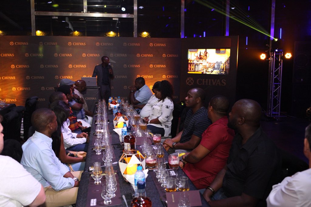 #TheBlendSessions with Chivas Regal Whisky. https://t.co/XHb5n8kWbs