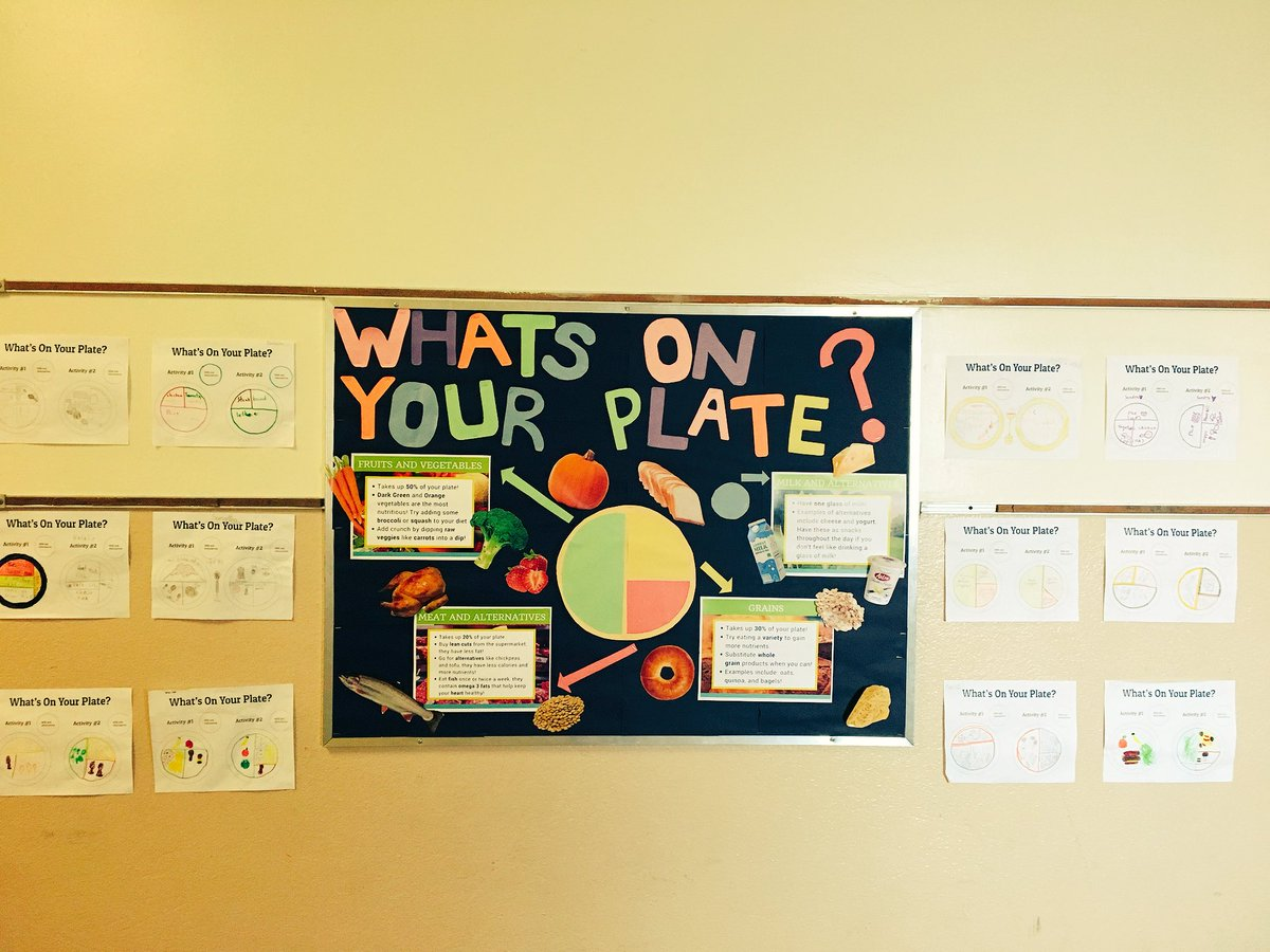 Dan Vigliatore On Twitter Very Successful Bulletin Board On Healthy Eating And Using Canada S Food Guide Ss At Precious Blood Cs Were Fortunate To Have Sherpas In The Field To Provide Quality